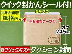 クッション封筒(定形外郵便規格内用)